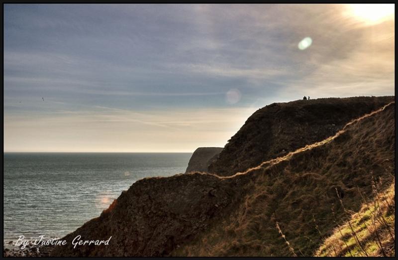 Dunnottar Castle clifftops