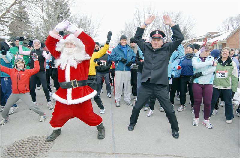Santa Shuffle warm-up