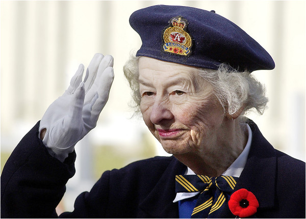royal canadian legion volunteer