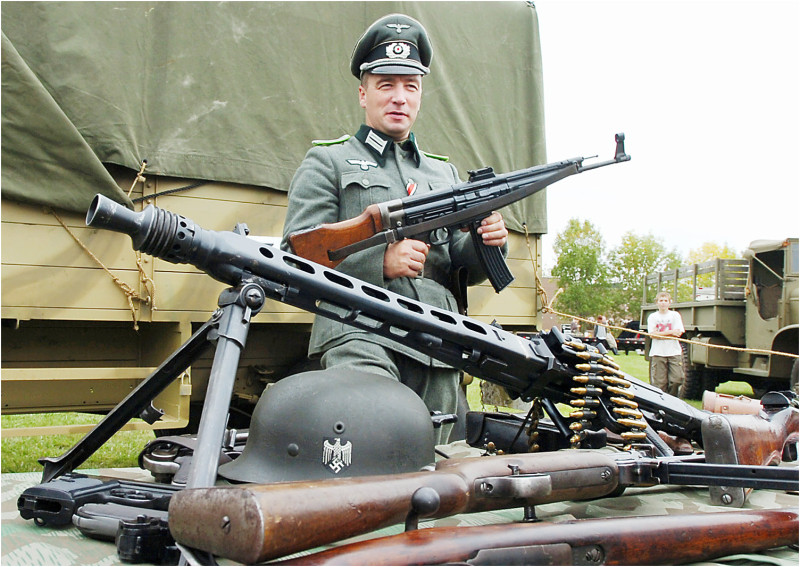 nazi panzer guns world war