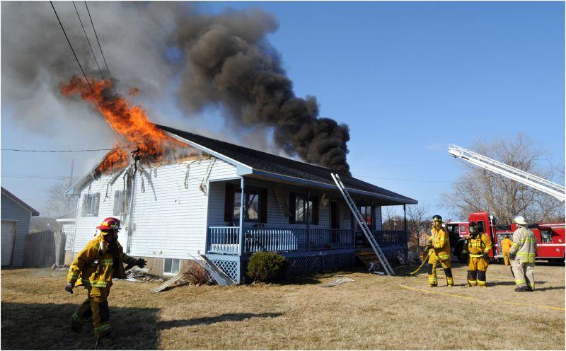 Bridgetown House Fire