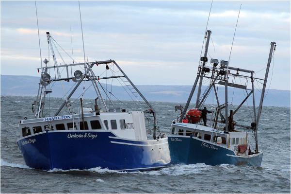 scallop dragger boat rescue