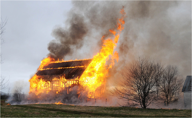 Barn Fire Arson