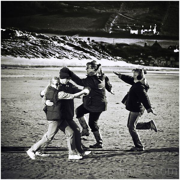 beach ,dance.