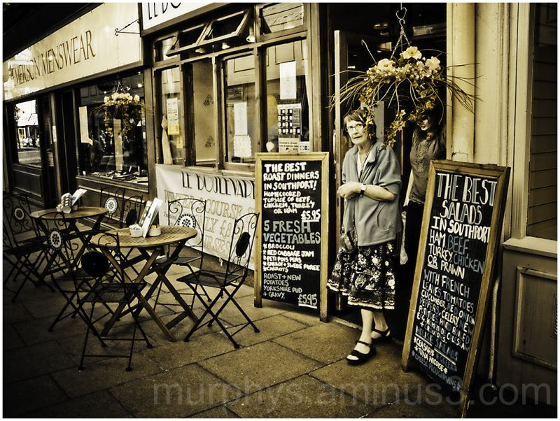 Cafe, Lady, southport.