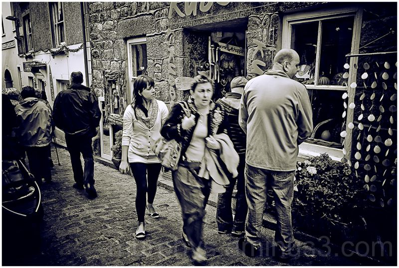 people ,candid,st ives