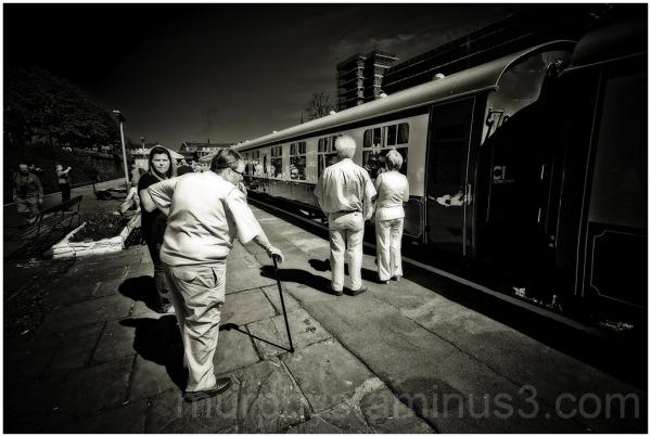 Bury station.