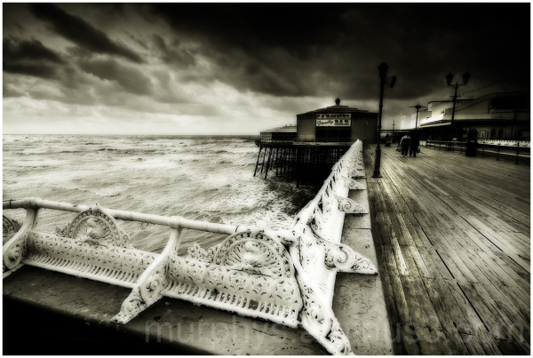 North Pier Blackpool.