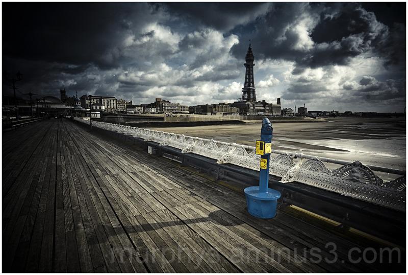 Blackpool sea front.