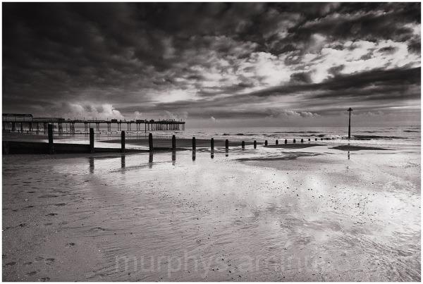 Teignmouth beach.