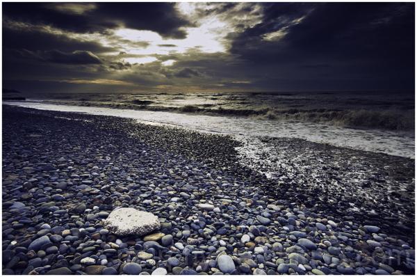 Cleveleys beach.
