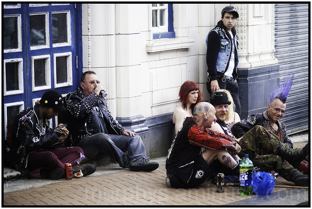 Punks in Blackpool.