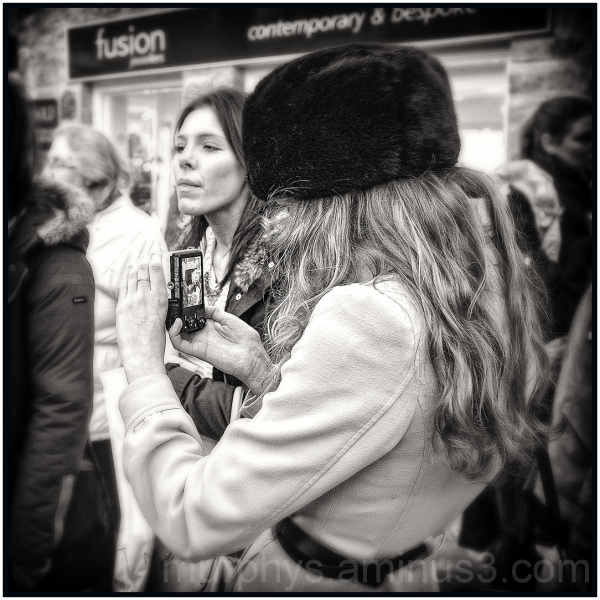 Nikon Lady.