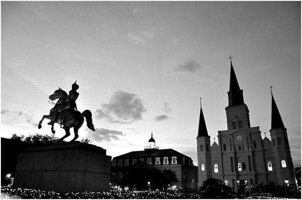 Saint Louis, New Orleans.