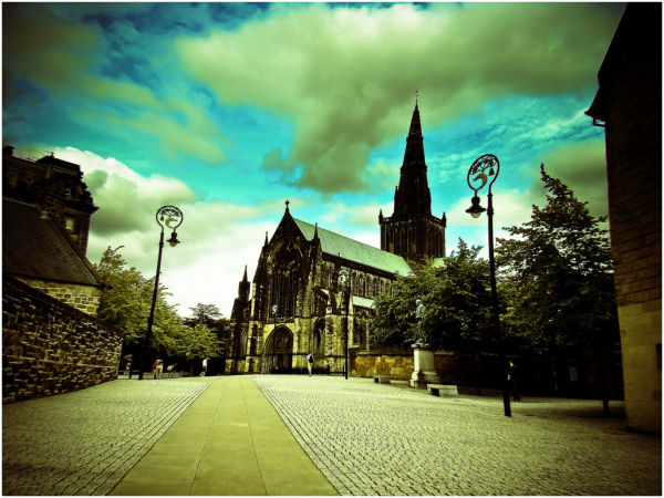Glasgow cathedral.