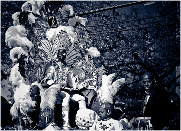 Zulu parade.