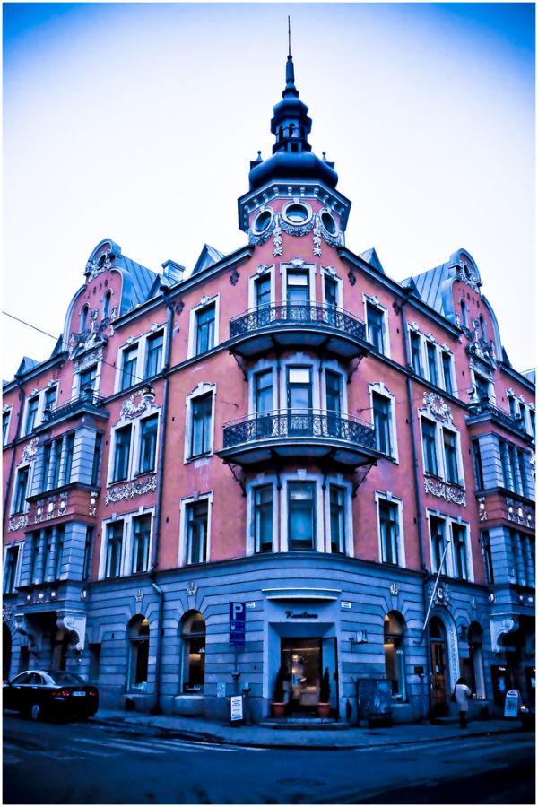 A building in Helsinki.