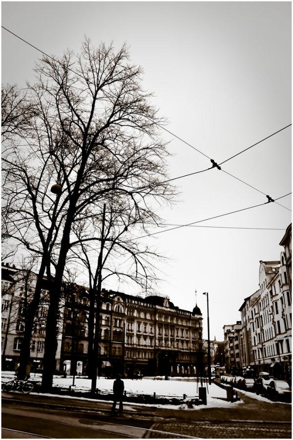 More streets in Helsinki.