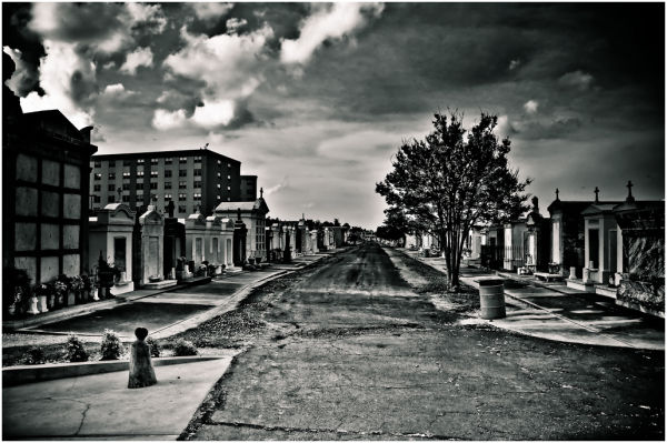 Cemetery in New Orleans.