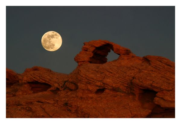 Moon and Arch
