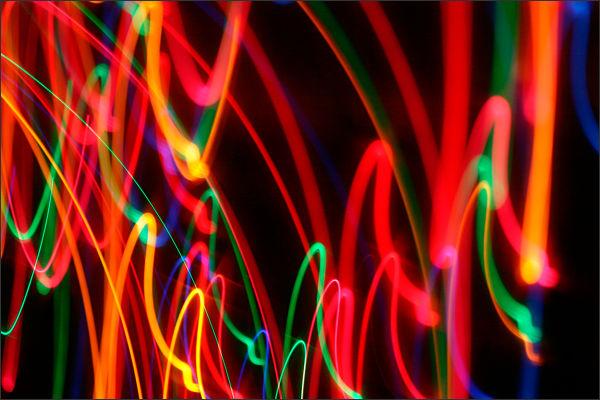 Christmas Lights Abstract 3/3