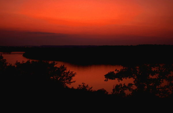 Mineral Wells Sunset