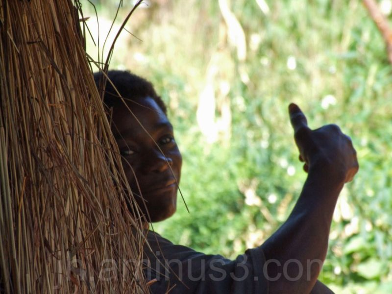 boy in malawi