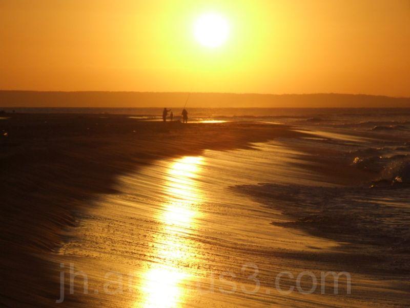 fisherman on beach mozambique