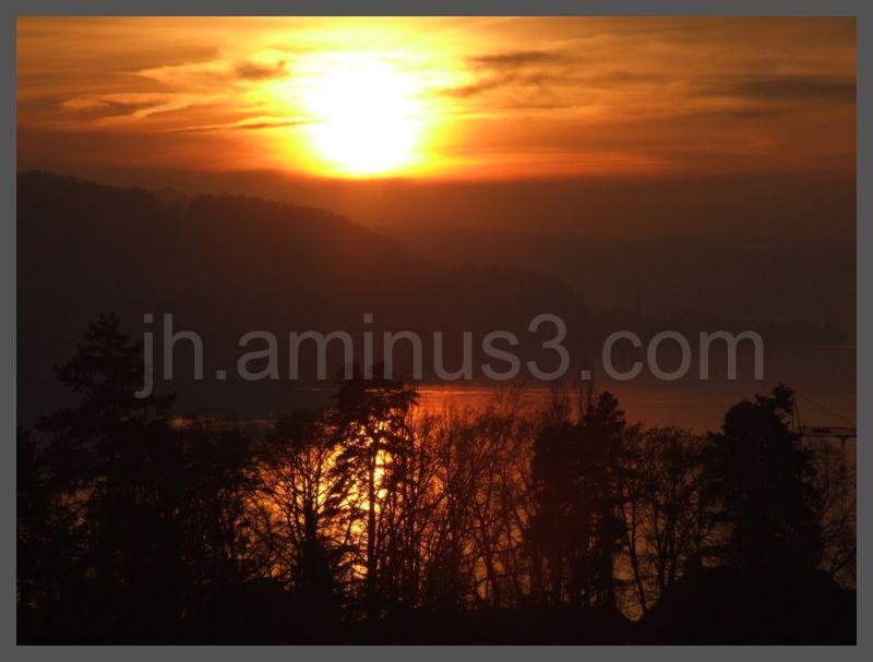 Reichenau sunset