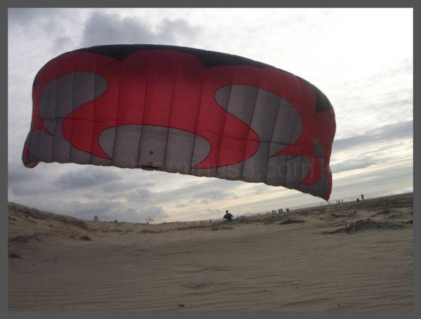 Kiting in Katwijk aan Zee