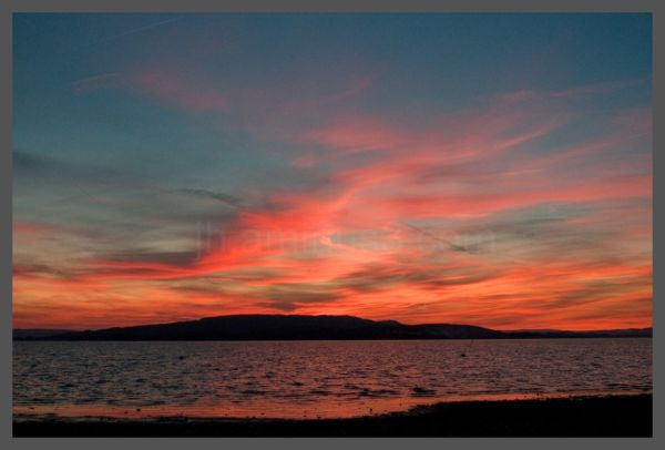 Another amazing sunset over the bodensee