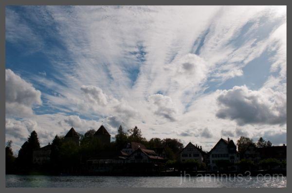 clouds over Gottlieben