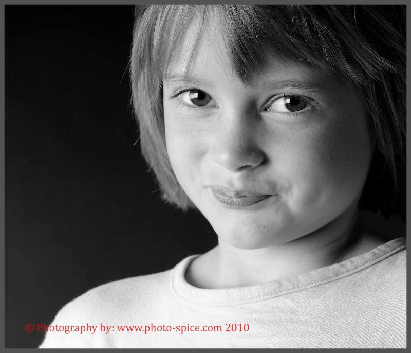 Naughty little girl ;)