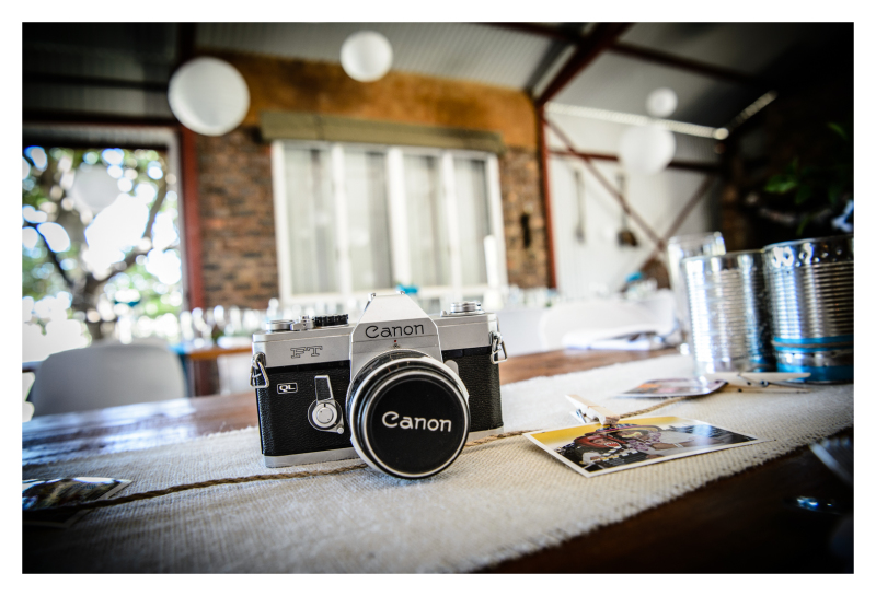 A photographers wedding ...