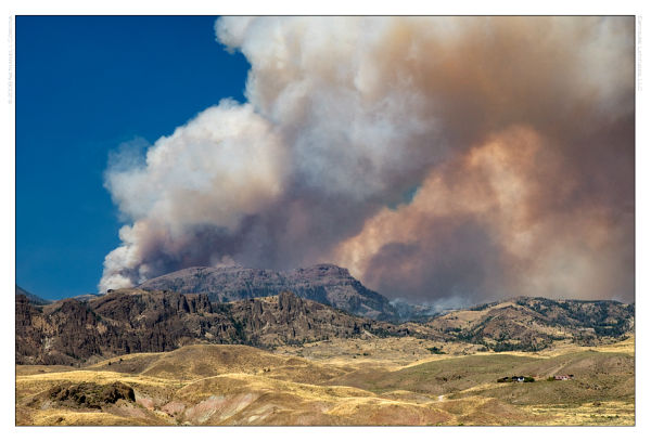 Gunpowder Fire, Wyoming
