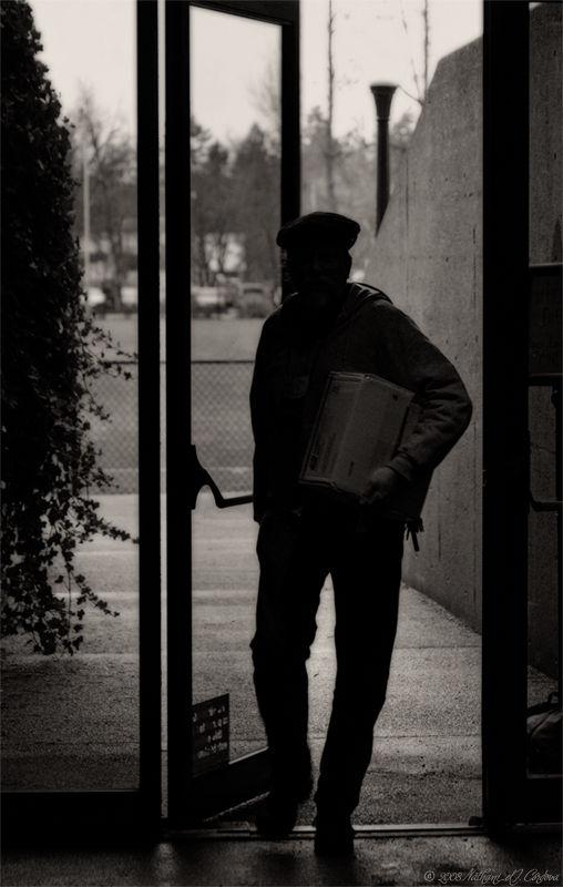 At the Doorway