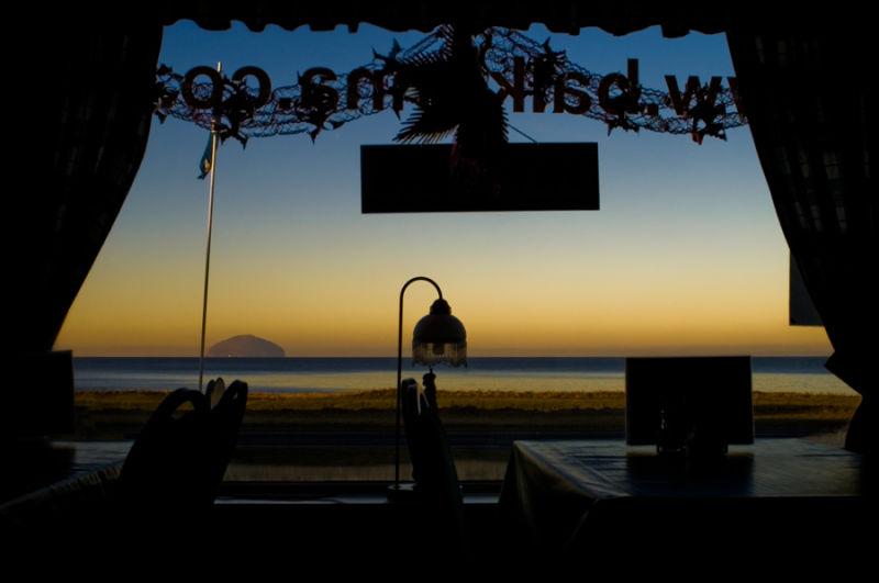 Scotland Island Restaurant View