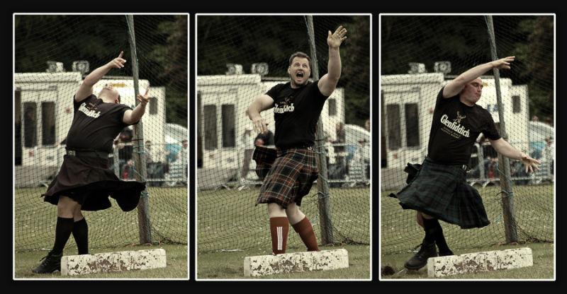 """Strange """"dance"""" moves from Scotland."""
