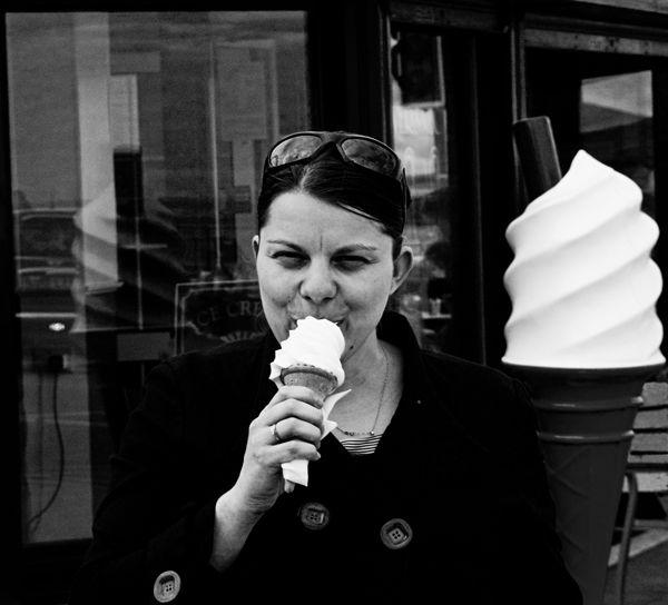Ice-cream Portrait