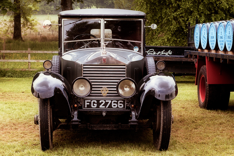Rolls Royce from Steam engine rally