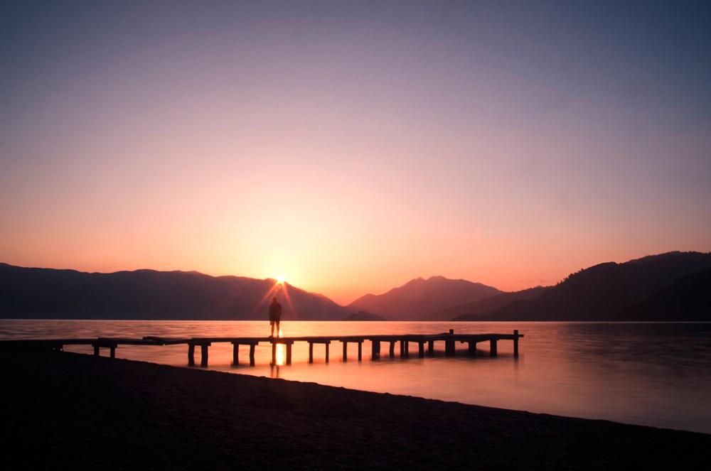 Waking up with sunrise