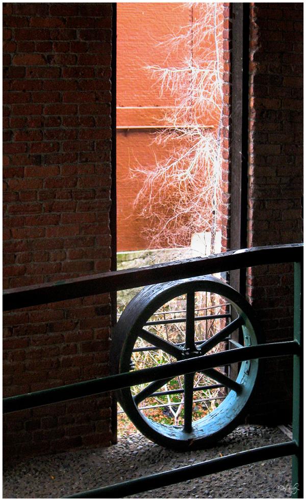 Flour Mill Wheel