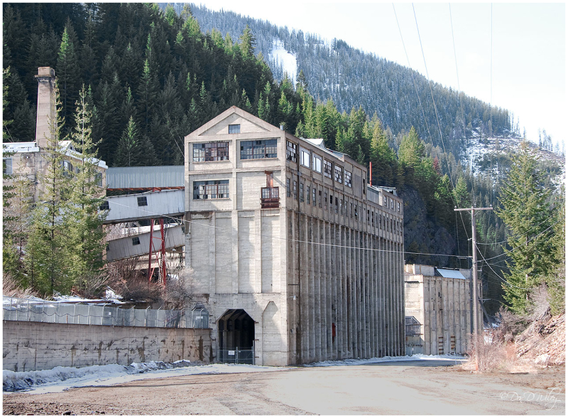 Remains of Hecla mine