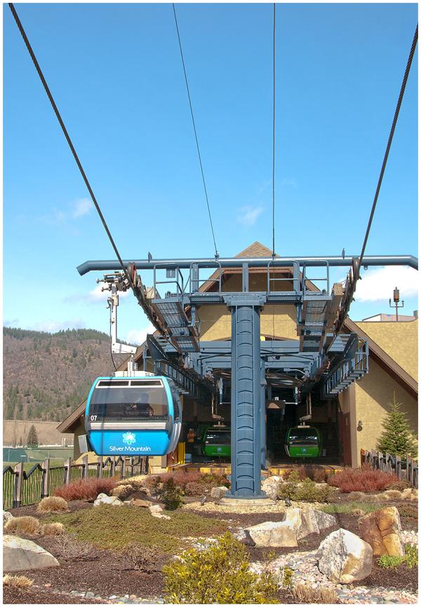 Gondola Ride on Silver Mountain