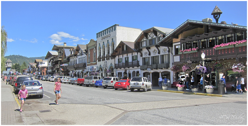 One block of Leavenworth
