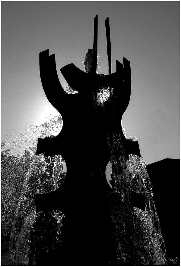 Scared Heart Fountain
