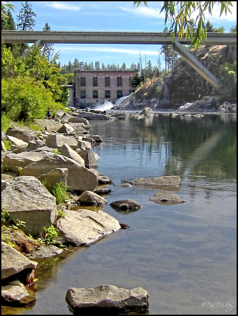 Below Nine Mile Dam