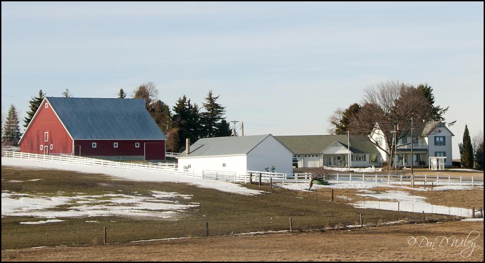A two house farm