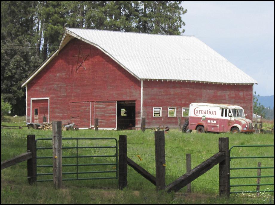 Milk Truck Barn