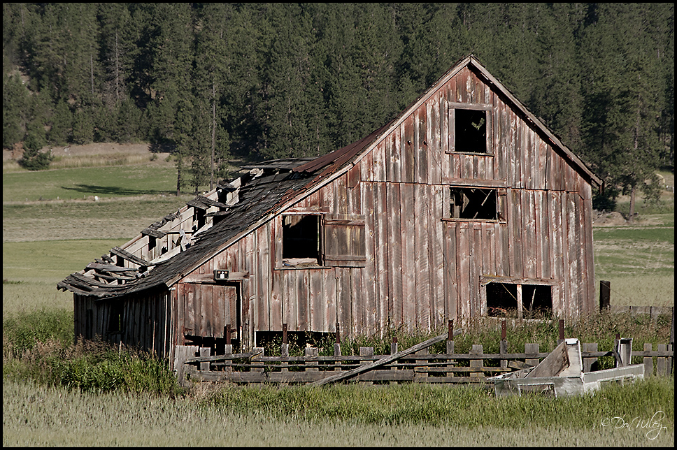 Over-the-hill Barn